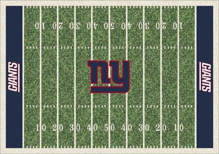 "New York Giants 3' 10"" x 5' 4"" Home Field Area Rug"
