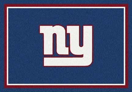 "New York Giants 3' 10"" x 5' 4"" Team Spirit Area Rug (Small Logo)"