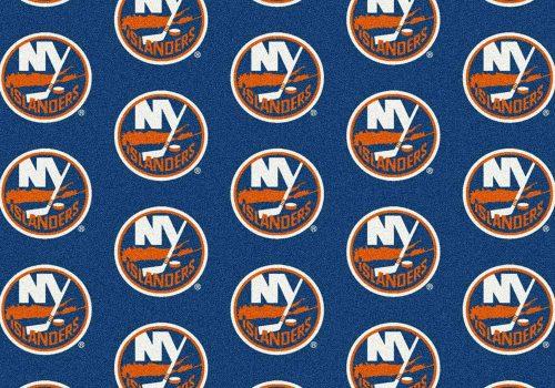 """New York Islanders 2' 1"""" x 7' 8"""" Team Repeat Area Rug Runner"""