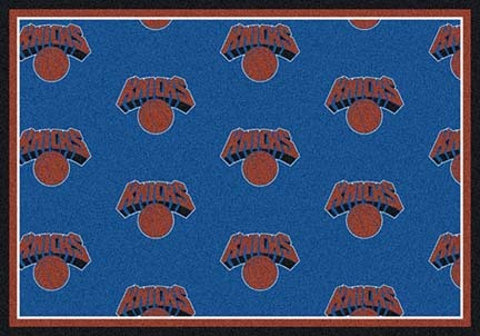 "New York Knicks 2' 1"" x 7' 8"" Team Repeat Area Rug Runner"