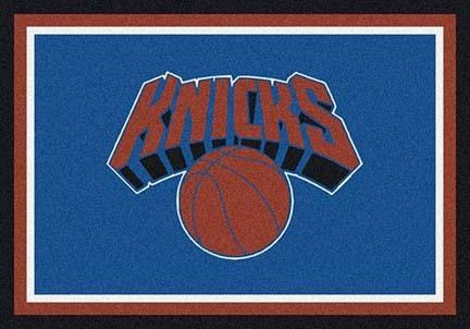 """New York Knicks 3' 10"""" x 5' 4"""" Team Spirit Area Rug"""