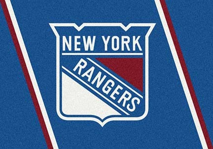 "New York Rangers 3' 10"" x 5' 4"" Team Spirit Area Rug"