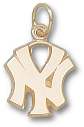 "New York Yankees 1/2"" ""NY"" Charm - 10KT Gold Jewelry"