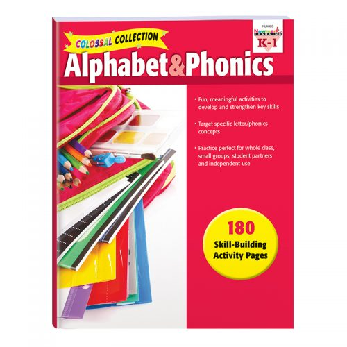 Newmark Learning NL-4683 Alphabet & Phonics Activities