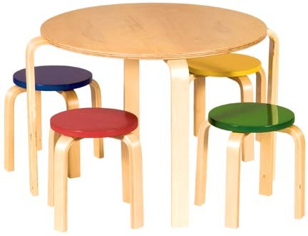 Nordic Table and Chairs Set (Colors)