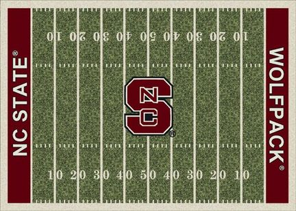 "North Carolina State Wolfpack 3' 10"" x 5' 4"" Home Field Area Rug"
