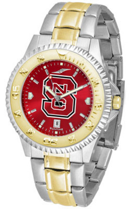 North Carolina State Wolfpack Competitor AnoChrome Two Tone Watch