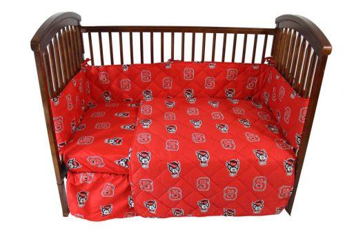 North Carolina State Wolfpack State Baby Crib Set