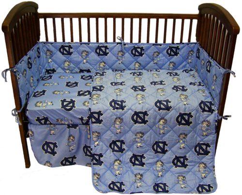 North Carolina Tar Heels Baby Crib Set