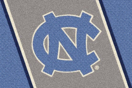 "North Carolina Tar Heels ""NC"" 3'10""x 5'4"" Team Spirit Area Rug"