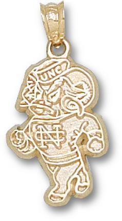 """North Carolina Tar Heels """"Ram"""" Lapel Pin - 10KT Gold Jewelry"""
