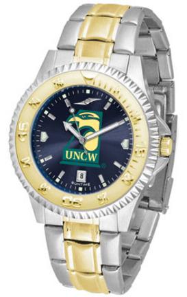 North Carolina (Wilmington) Seahawks Competitor AnoChrome Two Tone Watch