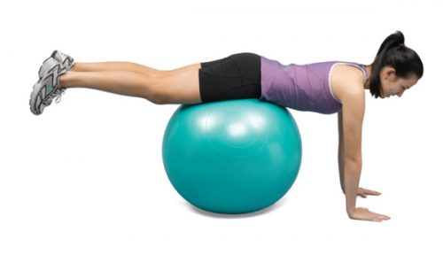 North Coast Medical NC50101 Norco Exercise Ball, 55 cm.