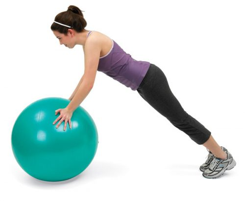 North Coast Medical NC50102 Norco Exercise Ball, 65 cm.