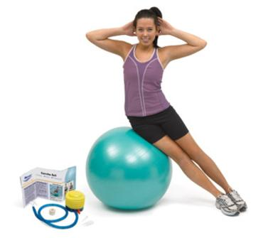 North Coast Medical NC50103 Norco Exercise Ball, 75 cm.