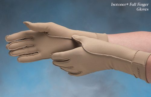 North Coast Medical NC53022-3 Isotoner Therapeutic Gloves Open Finger Large