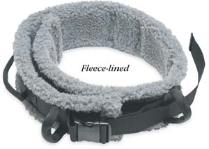 North Coast Medical NC84518 Assure Safety Transfer Belt Fleece Lined, Medium