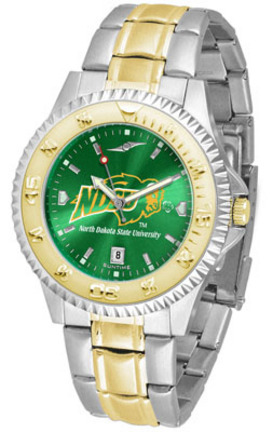 North Dakota State Bison Competitor AnoChrome Two Tone Watch