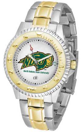 North Dakota State Bison Competitor Two Tone Watch