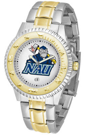 Northern Arizona (NAU) Lumberjacks Competitor Two Tone Watch