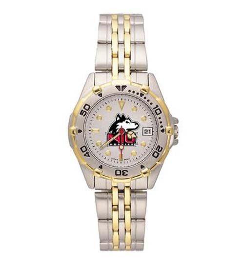 Northern Illinois Huskies NCAA Women's All Star Watch with Stainless Steel Bracelet