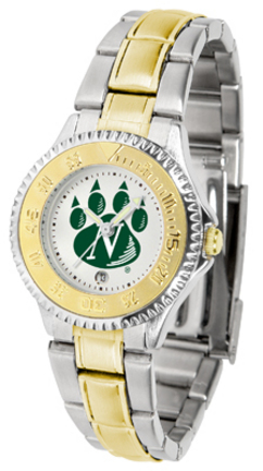 Northwest Missouri State Bearcats Competitor Ladies Watch with Two-Tone Band