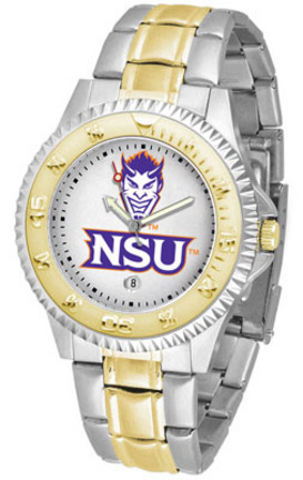 Northwestern State Demons Competitor Two Tone Watch