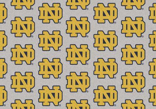 """Notre Dame Fighting Irish 3' 10"""" x 5' 4"""" Team Repeat Area Rug"""