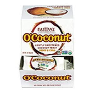 Nutiva 228448 0.5 oz Organic O Coconut Treats Hemp & Chia 24 Count Caddy