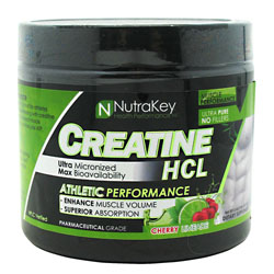 Nutrakey 6150089 Creatine Hcl Cherry Limeade 125 Serving
