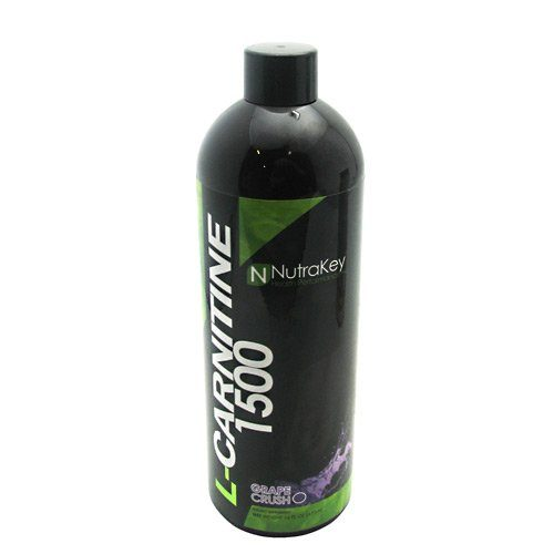 Nutrakey 6150108 Liquid L-Carnitine 1500 Nutritional Grape Supplement - 31 Serving