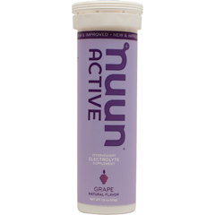 Nuun Hydration 1791326 Gluten Free Grape Active Drink Tab 10 Tablets - Case of 8