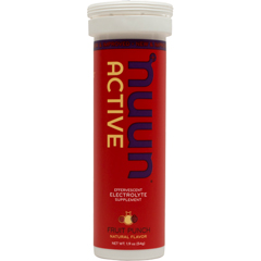 Nuun Hydration 1791334 Gluten Free Fruit Punch Active Drink Tab 10 Tablets - Case of 8