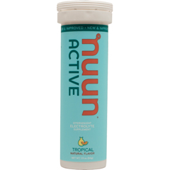Nuun Hydration 1791367 Gluten Free Tropical Active Drink Tab 10 Tablets - Case of 8