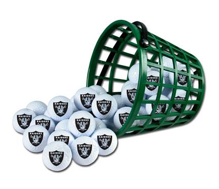 Oakland Raiders Golf Ball Bucket (36 Balls)