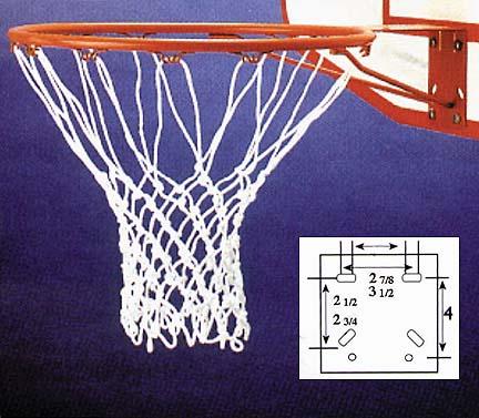 Official Size Basketball Goal & Net