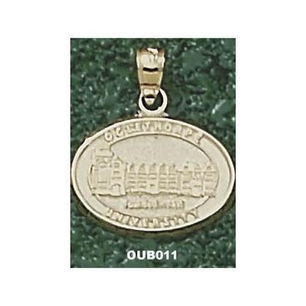 "Oglethorpe Stormy Petrels Oval ""Seal"" Pendant - 10KT Gold Jewelry"