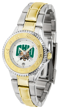 Ohio Bobcats Competitor Ladies Watch with Two-Tone Band