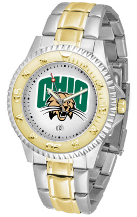 Ohio Bobcats Competitor Two Tone Watch