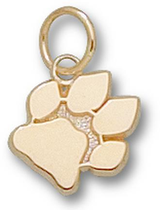 "Ohio Bobcats ""Paw"" 3/8"" Charm - 10KT Gold Jewelry"