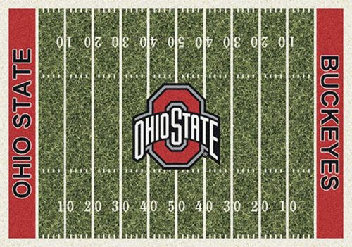 "Ohio State Buckeyes 3' 10"" x 5' 4"" Home Field Area Rug"