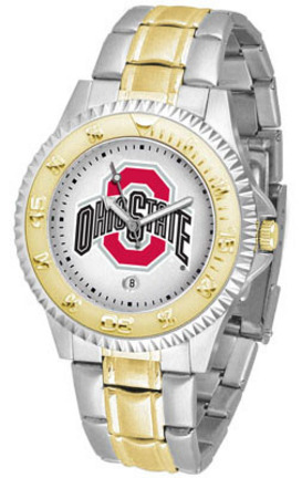 Ohio State Buckeyes Competitor Two Tone Watch