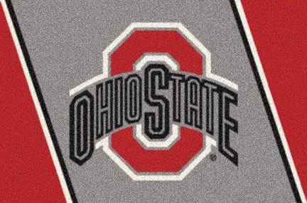 "Ohio State Buckeyes ""Red O"" 3'10""x 5'4"" Team Spirit Area Rug"