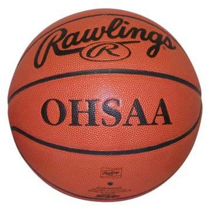 Ohio State High School Model Men's Basketball from Rawlings