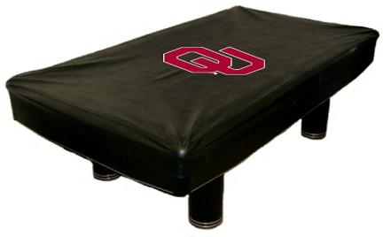 Oklahoma Sooners MVP Universal Fit Billiard Table Cover
