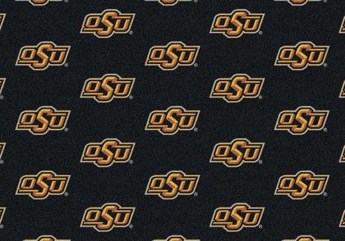 "Oklahoma State Cowboys 3' 10"" x 5' 4"" Team Repeat Area Rug"