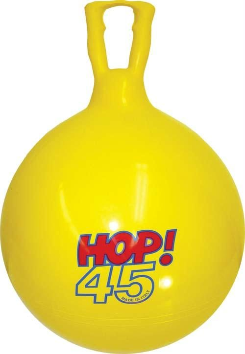 Olympia Sports BA605P 18 in. Hop Ball - Yellow