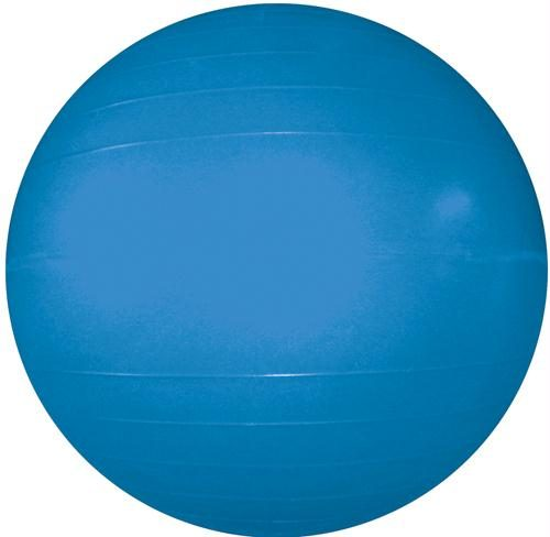 Olympia Sports BA620P Therapy-Exercise Ball - 55cm-22 in. Dia. - Blue