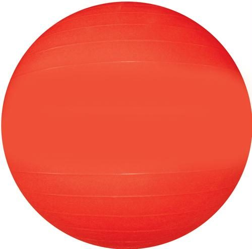 Olympia Sports BA621P Therapy-Exercise Ball - 65cm-26 in. Dia. - Red