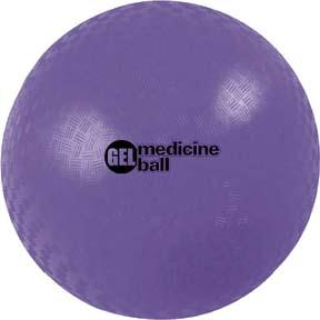 Olympia Sports BE778P Gel Filled Medicine Ball - 11 lbs.